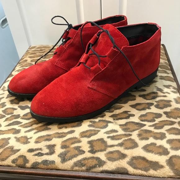 0b0377577c4c0 Buskens Shoes | Vintage Laceup Ankle Boots | Poshmark
